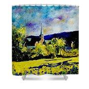 Hour Village Belgium Shower Curtain by Pol Ledent