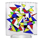 Hourglasses Shower Curtain