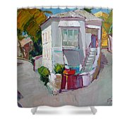 Hous In Crimea Shower Curtain