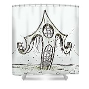 House  2 Shower Curtain