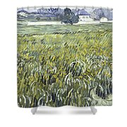 House At Auvers Shower Curtain