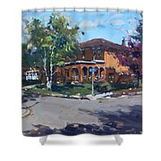 House At Goldmar Dr Mississauga On Shower Curtain