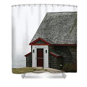 House By The Sea Shower Curtain