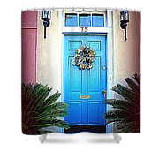 House Door 6 In Charleston Sc  Shower Curtain