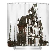 House Dracula Shower Curtain
