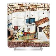 House In Santiago De La Ribera Shower Curtain