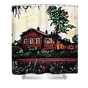House In Sergiyev Posad   Shower Curtain