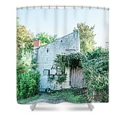 House In The Forest Shower Curtain