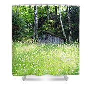 House In The Wood Shower Curtain