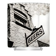 House Of Beer Shower Curtain