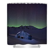 House Of Blue Shower Curtain