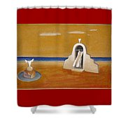 House Of Eros Shower Curtain
