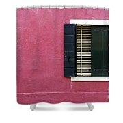 House Of Venice - Magenta Shower Curtain