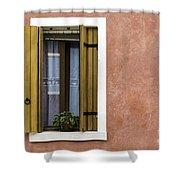 House Of Venice - Salmon Shower Curtain