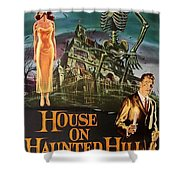 House On Haunted Hill 1958 Shower Curtain