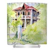 House On Jones Street Shower Curtain