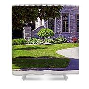 House On Wisconsin Avenue Shower Curtain