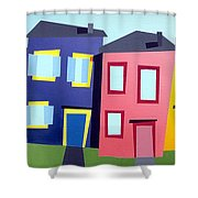 House Party 11 Shower Curtain