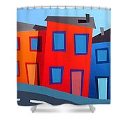 House Party 12 Shower Curtain