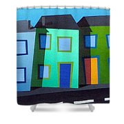 House Party 14 Shower Curtain