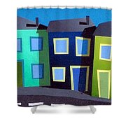 House Party 18 Shower Curtain
