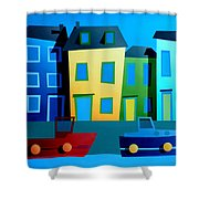 House Party 9 Shower Curtain