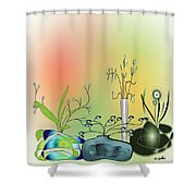 House Plants 3000  Shower Curtain