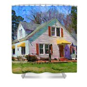 House Proud In Cary Shower Curtain