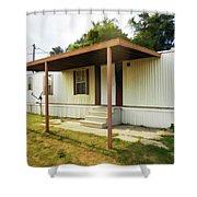 House Trailer Park Shower Curtain