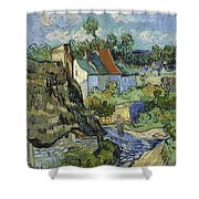 Houses In Auvers Shower Curtain