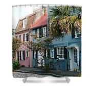Houses In Charleston Sc Shower Curtain