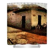 Houses Of Choroni Shower Curtain