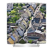 Houses On-line Shower Curtain