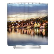 Houses On The Water Shower Curtain
