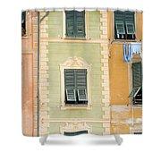 Houses, Portofino, Italy Shower Curtain
