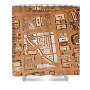 Houses With Central Courtyards Shower Curtain