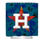Houston Astros Logo Shower Curtain