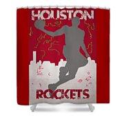 Houston Rockets Shower Curtain