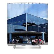 Houston Space Center Shower Curtain