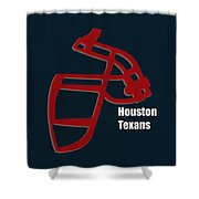 Houston Texans Retro Shower Curtain