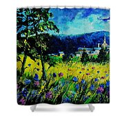 Houyet 68 Shower Curtain