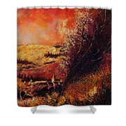 Houyet In Fall Shower Curtain
