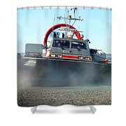 Hover Craft Shower Curtain