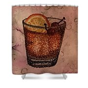 How About An Old Fashioned? Shower Curtain