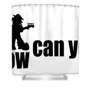 How Low Can You Go Shower Curtain