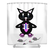 How To Catch A Mouse - Humor Shower Curtain
