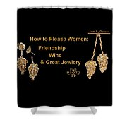 How To Please Women Shower Curtain