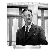 Howard Florey, Pathologist, Nobel Shower Curtain