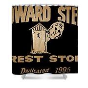Howard Stern Rest Stop Shower Curtain