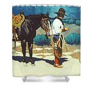 Howdy Ole Friend Shower Curtain